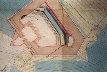 Fort Dugommier - Plan de masse