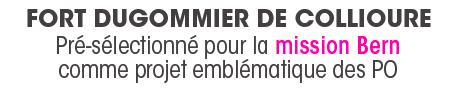 Fort Dugommier pré-sélectionné pour la Mission BERN