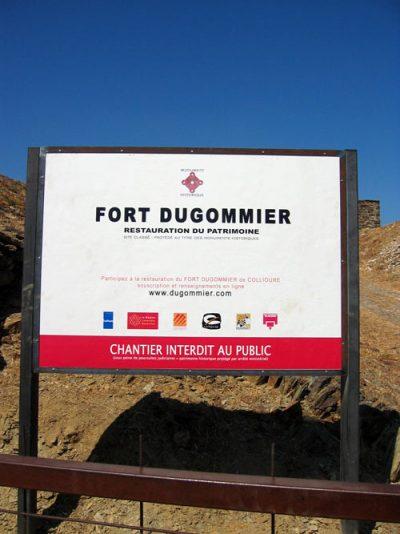 Fort Dugommier de Collioure